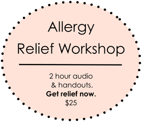 allergies relief the workshop What your allergies are trying to tell you