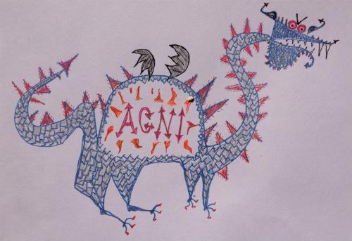 agni_dragon