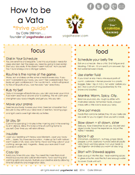 Vatas: Print Your Thrive Guide