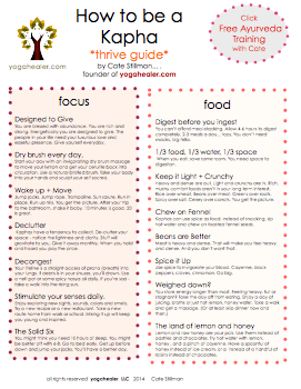Kaphas: Print Your Thrive Guide