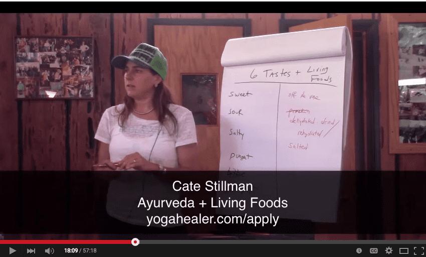 Ayurveda + Living Foods Webinar